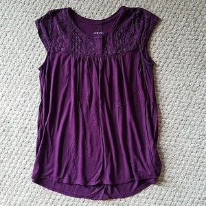 Cute cotton top. Size Large. So comfy